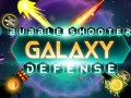 Spel Bubble Shooter Galaxy Defense