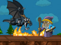 Spel Dragon vs Mage