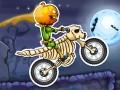 Spel Moto X3M Spooky Land