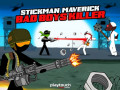 Spel Stickman Maverick: Bad Boys Killer